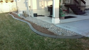 House and Lawn Boarder