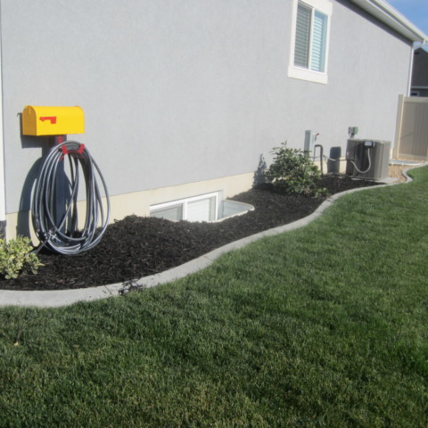 Side of House Curbing