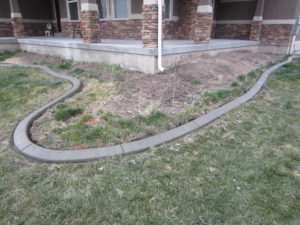 Curbing - Nice Curve To Accent Front Porch